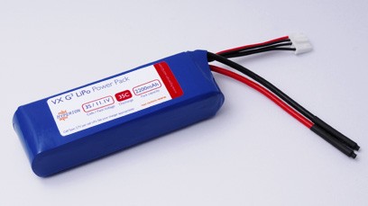 Hyperion G3 VX 2200 MAH 3S 11.1V 35C/65C LIPOLY