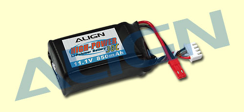 3S1P 11.1V 850mAh/30C